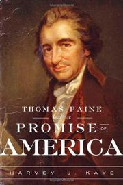Cover art for THOMAS PAINE AND THE PROMISE OF AMERICA