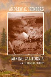 Book Cover for MINING CALIFORNIA