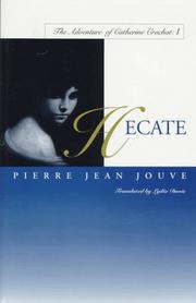 HECATE by Pierre Jean Jouve