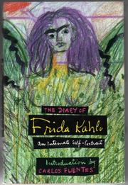 Cover art for THE DIARY OF FRIDA KAHLO