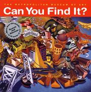 Cover art for CAN YOU FIND IT?