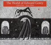 Cover art for THE WORLD OF EDWARD GOREY