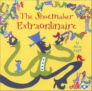 Cover art for THE SHOEMAKER EXTRAORDINAIRE