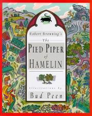 Cover art for THE PIED PIPER OF HAMELIN