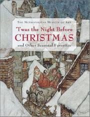 'TWAS THE NIGHT BEFORE CHRISTMAS by William Lach