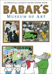 Cover art for BABAR'S MUSEUM OF ART