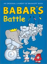 Cover art for BABAR'S BATTLE