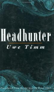 HEADHUNTER by Uwe Timm