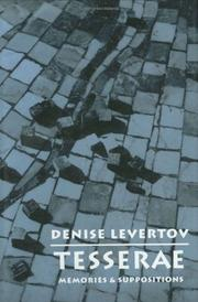 TESSERAE by Denise Levertov