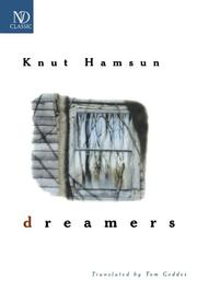 DREAMERS by Knut Hamsun