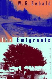 Book Cover for THE EMIGRANTS