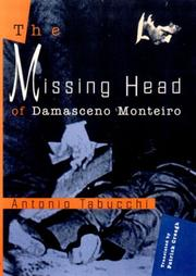 THE MISSING HEAD by Antonio Tabucchi