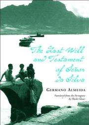 THE LAST WILL AND TESTAMENT OF SEÑOR DA SILVA ARAÚJO by Germano Almeida