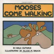 Book Cover for MOOSES COME WALKING