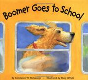 Cover art for BOOMER GOES TO SCHOOL