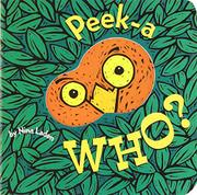 Book Cover for PEEK-A-WHO?