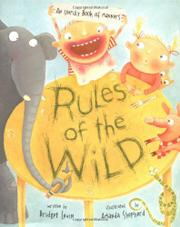 RULES OF THE WILD by Bridget Levin