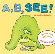 Book Cover for A, B, SEE!