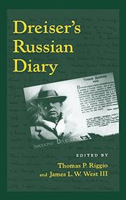 Cover art for DREISER'S RUSSIAN DIARY