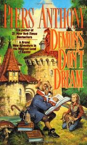 DEMONS DON'T DREAM by Piers Anthony