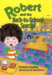 Cover art for ROBERT AND THE BACK-TO-SCHOOL SPECIAL