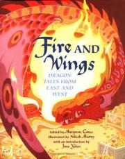 Cover art for FIRE AND WINGS