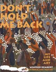 Cover art for DON'T HOLD ME BACK