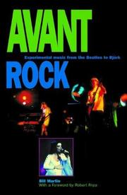 AVANT ROCK by Bill Martin