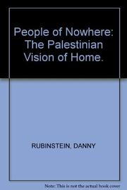 THE PEOPLE OF NOWHERE by Danny Rubinstein