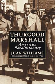 Cover art for THURGOOD MARSHALL