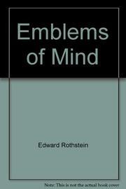 EMBLEMS OF MIND by Edward Rothstein