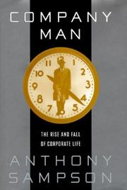 COMPANY MAN by Anthony Sampson