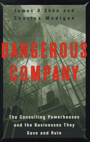 Cover art for DANGEROUS COMPANY