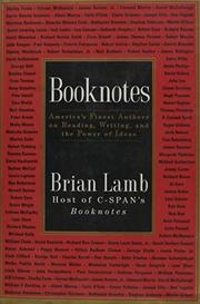 BOOKNOTES by Brian Lamb
