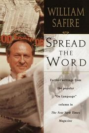 Book Cover for SPREAD THE WORD