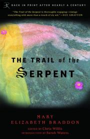 THE TRAIL OF THE SERPENT by Mary Elizabeth Braddon
