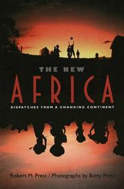 Cover art for THE NEW AFRICA