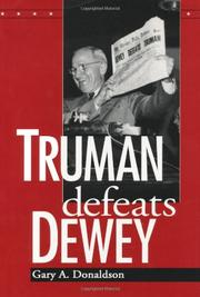 Cover art for TRUMAN DEFEATS DEWEY