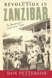 REVOLUTION IN ZANZIBAR by Don Petterson