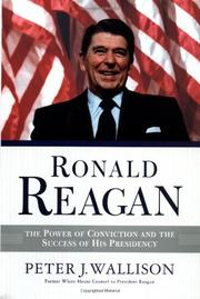 RONALD REAGAN by Peter J. Wallison