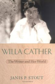 WILLA CATHER by Janis P. Stout