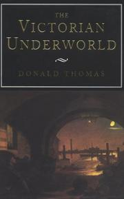 Cover art for THE VICTORIAN UNDERWORLD