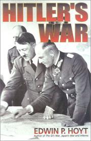 HITLER'S WAR by Edwin P. Hoyt