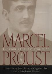 THE COMPLETE SHORT STORIES OF MARCEL PROUST by Marcel Proust