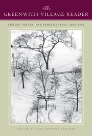 THE GREENWICH VILLAGE READER by June Skinner Sawyers