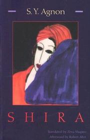 SHIRA by S.Y. Agnon