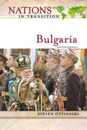 BULGARIA by Steven Otfinoski