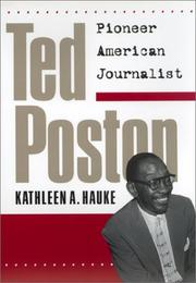 TED POSTON by Kathleen A. Hauke