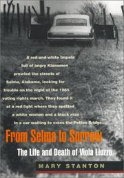 FROM SELMA TO SORROW by Mary Stanton
