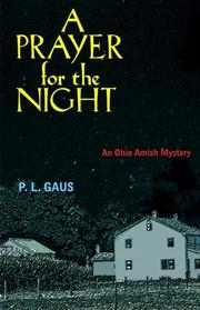 Book Cover for A PRAYER FOR THE NIGHT